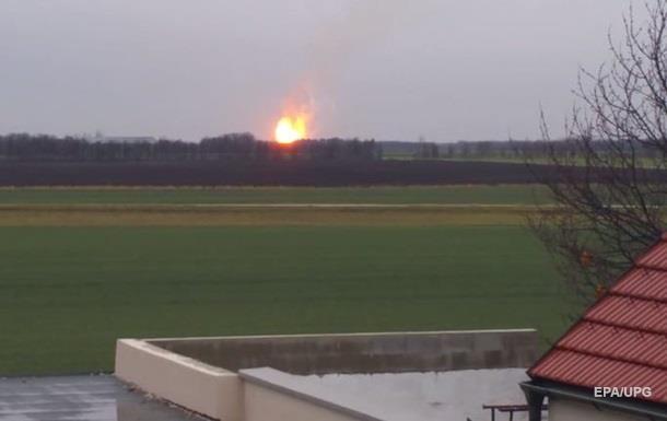 З явилося відео вибуху на газовому хабі в Австрії