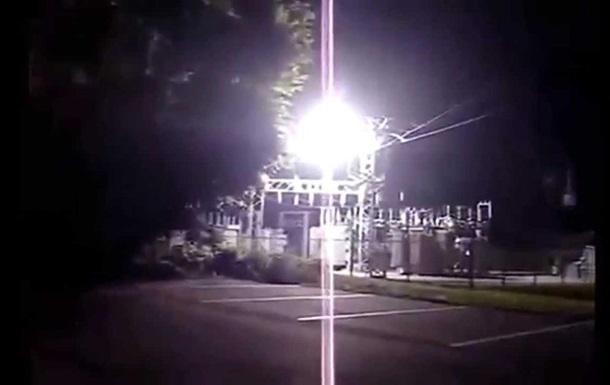 Под Харьковом взорвалась подстанция