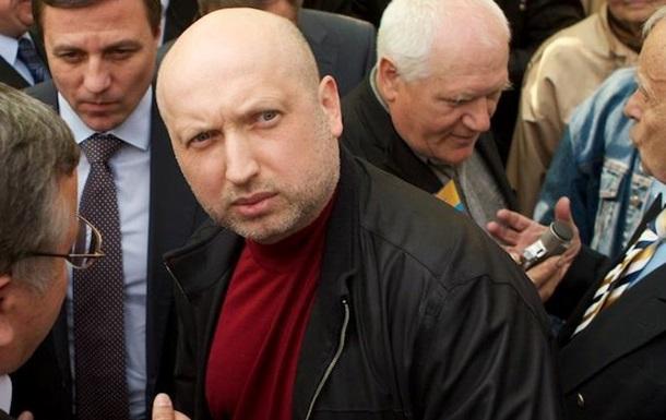 Турчинов проведет переговоры с генсеком НАТО