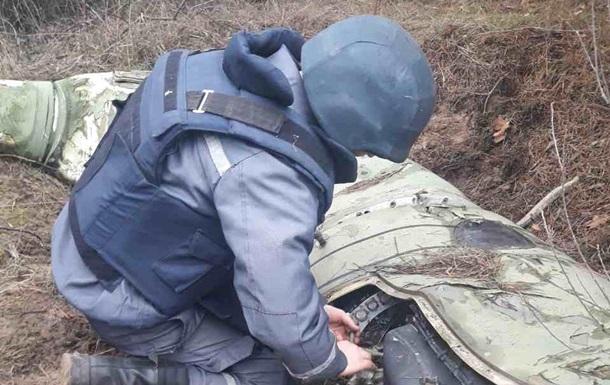 У Луганській області знешкодили залишки ракети комплексу Точка-У