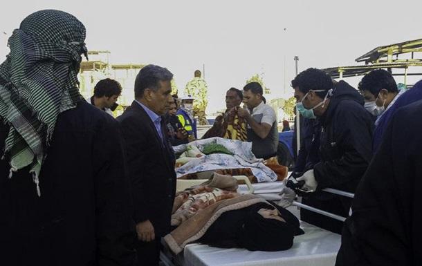 В Иране от землетрясения пострадали почти 60 человек