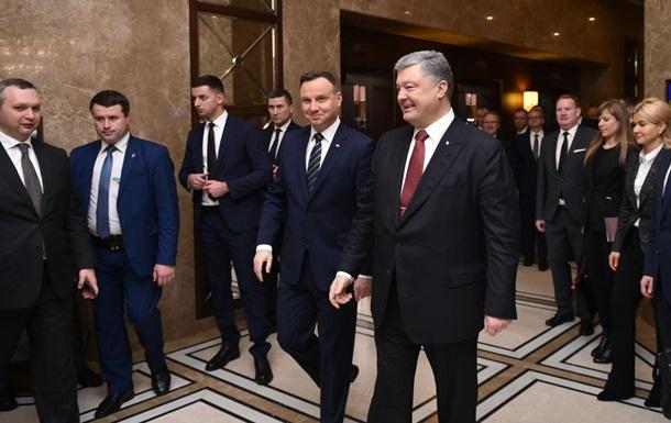 Польша поддерживает введение миротворцев на Донбасс