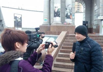 Яків Осташ розповів, коли на Майдані запрацює «Скляна кімната»