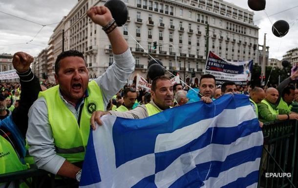 У Греції сьогодні відбудеться масштабний страйк проти режиму економії