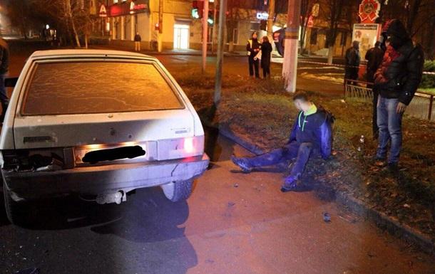 В Славянске полиция устроила погоню со стрельбой