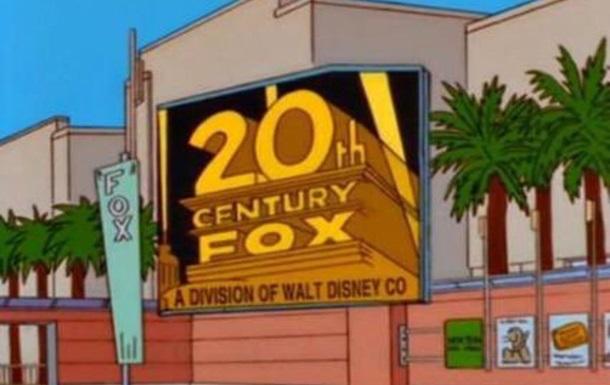 Симпсоны  предсказали слияние Disney и Fox
