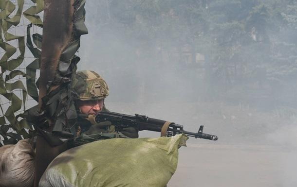 Штаб АТО констатує зменшення обстрілів на Донбасі