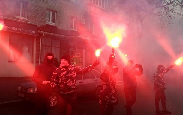 У Кременчуці побилися Нацкорпус і поліція