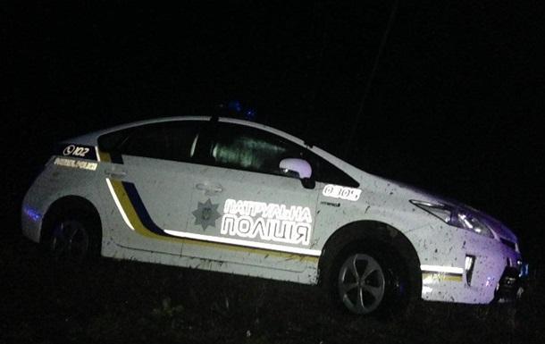 Возле Николаева полицейские обезвредили угонщика с гранатой