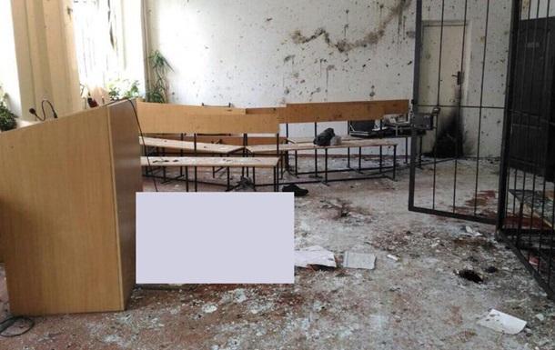 Взрыв в суде Никополя: обвиняемых в двойном убийстве освободили