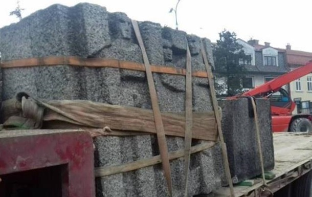 В Польше снесли очередной советский памятник