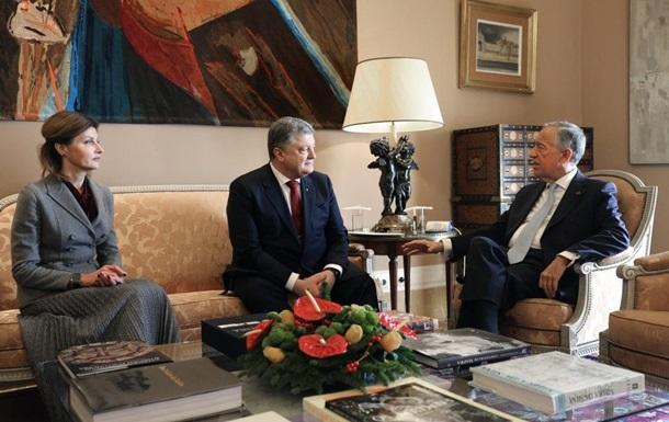 Порошенко предложил португальцам разработать совместный самолет