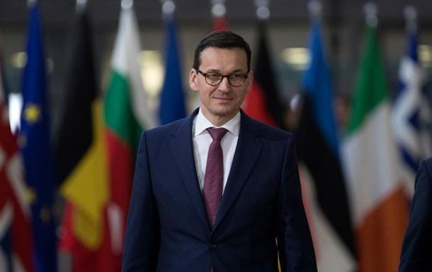 Новий польський прем єр вважає газопровід Північний потік-2 небезпечним