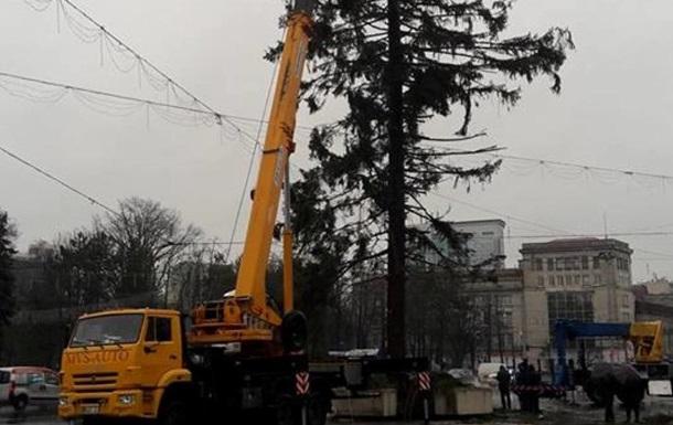 Кишиневу повернуть гроші за поламану ялинку з України