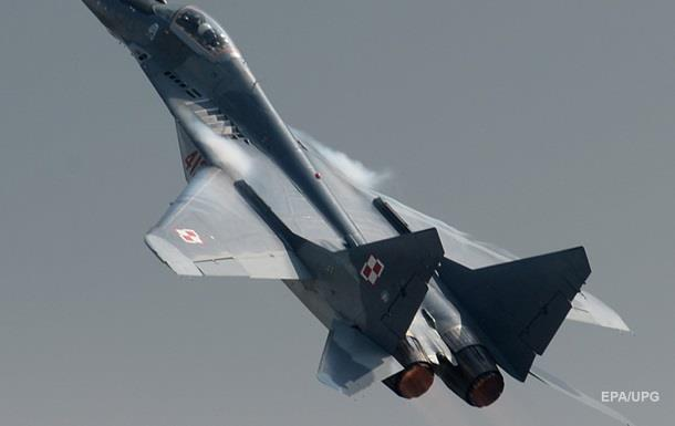 В Польше при посадке разбился истребитель МиГ-29