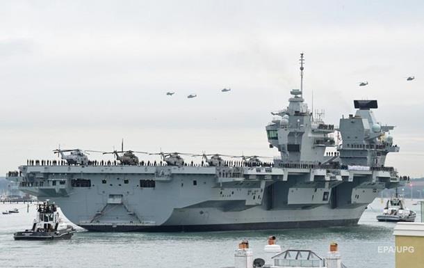 На новейшем британском авианосце обнаружили течь