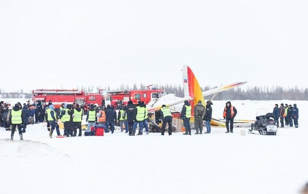 У РФ здійснив жорстку посадку літак, є жертви