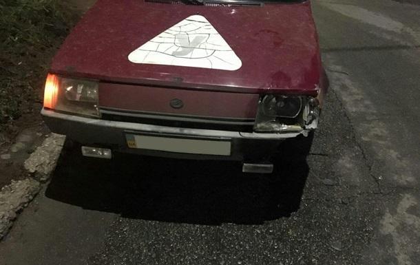 У Запоріжжі навчальний автомобіль збив на смерть пішохода