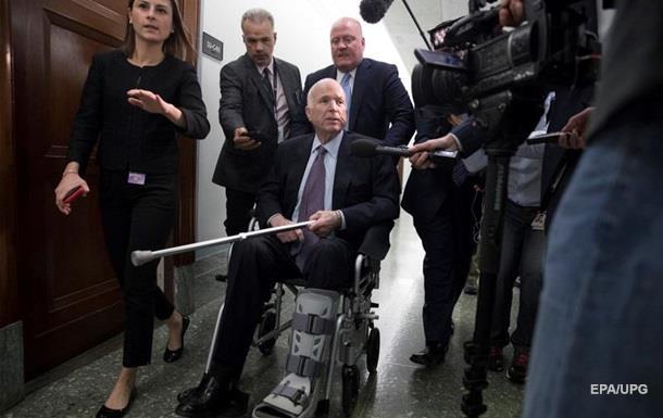 Сенатор Маккейн виписаний із лікарні в США