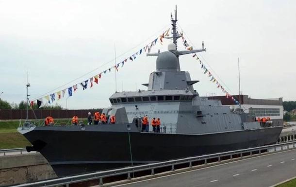 В Крыму на бывшем заводе Порошенко строят ракетный корабль