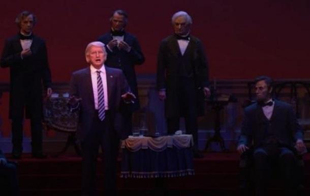 У президентській залі Disney з явився робот Трампа