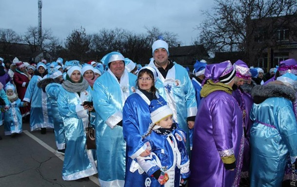 Под Одессой прошел рекордный костюмированный парад
