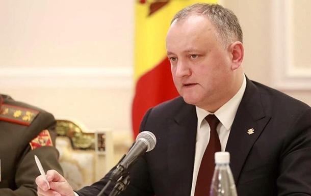 Додон выступил против борьбы с российской пропагандой