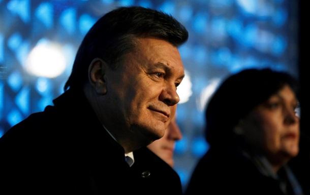 Швейцарские счета Януковича будут заморожены еще год