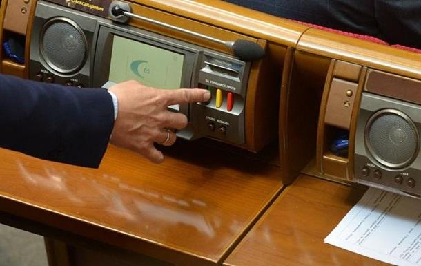 Рада отозвала депутатский законопроект об антикоррупционном суде