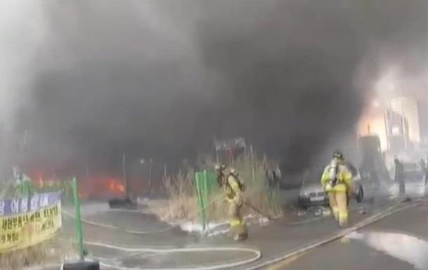 У Південній Кореї під час пожежі загинули 16 людей