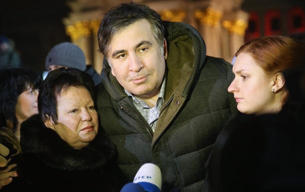 Саакашвили получил визу Нидерландов – СМИ