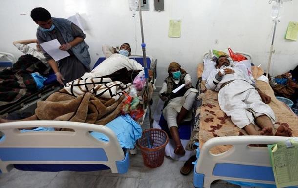 Червоний Хрест: Вже понад мільйон людей в Ємені захворіли холерою