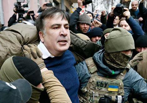 Грузинский Майдан против Порошенко