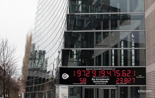 Госдолг Германии начал уменьшаться впервые за 22 года