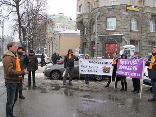 Під АПУ бізнесмени закликали Порошенка підписати закон 6776-д до 26 грудня