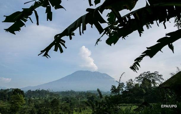 На Балі знову сталося виверження вулкана