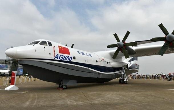 У Китаї випробували найбільший у світі літак-амфібію