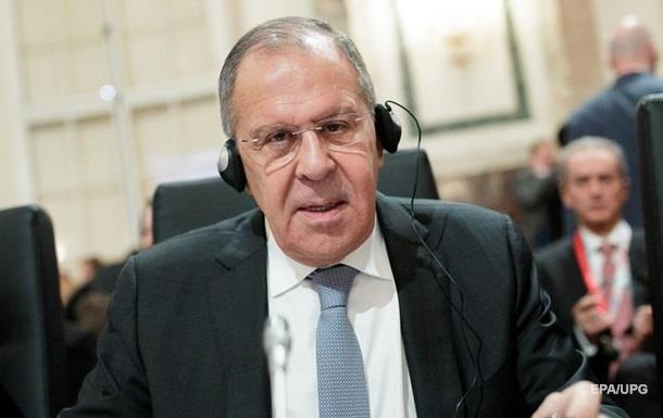 Лавров у ЄС поскаржився на агресивних  русофобів