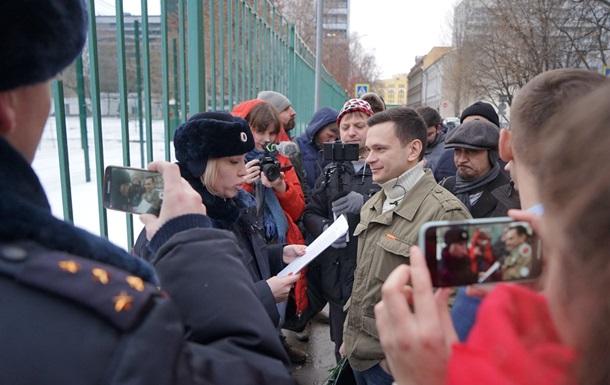 У Москві зірвали акцію  День вільних виборів