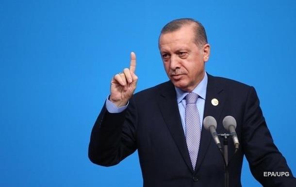 Охранники накинулись на мужчину, пытавшегося обнять Эрдогана