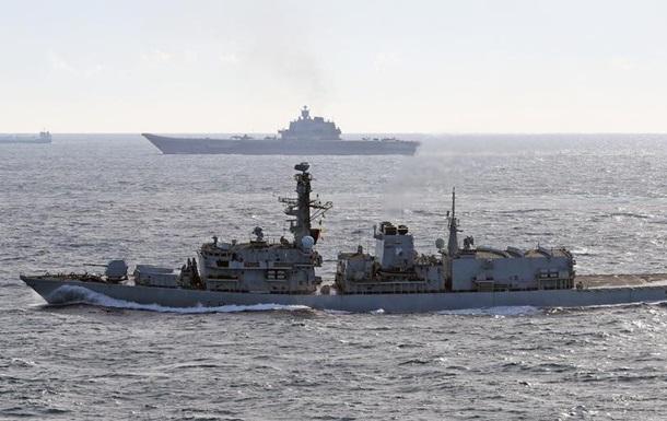 Фрегат ВМФ Великобританії здійснив супровід російського корабля