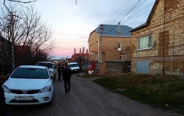 Российские силовики провели обыски в Симферополе
