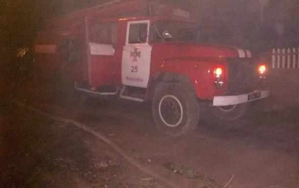 В Мариуполе произошел пожар в жилом доме, есть жертвы
