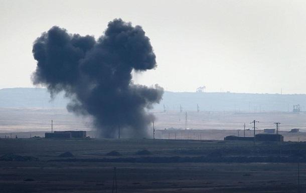 ВСирии сбит военный самолёт, пилот умер