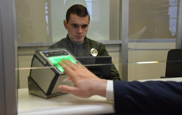 Украина запускает биометрию на границе