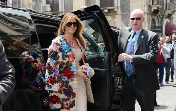 Експерти назвали найбільш зухвале вбрання дружини Трампа