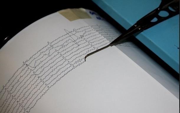 Землетрясение произошло в Тихом океане