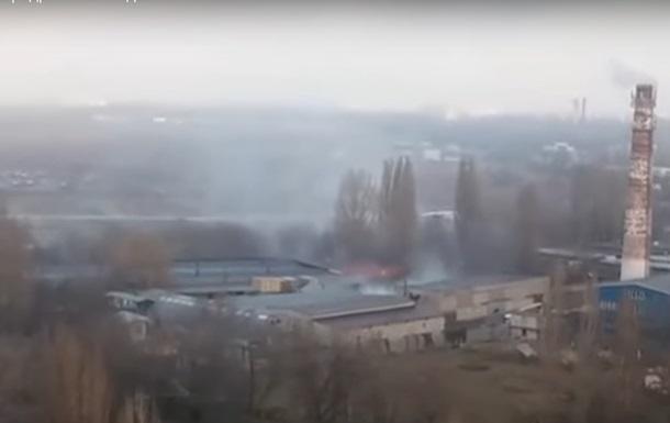 В районе одесского аэродрома происходит пожар  - СМИ