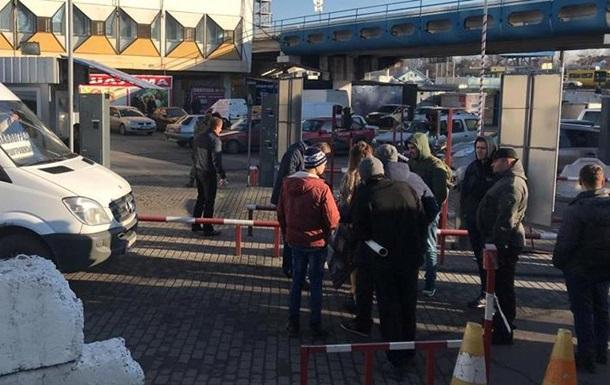 У Дніпрі бійці АТО заблокували автовокзал