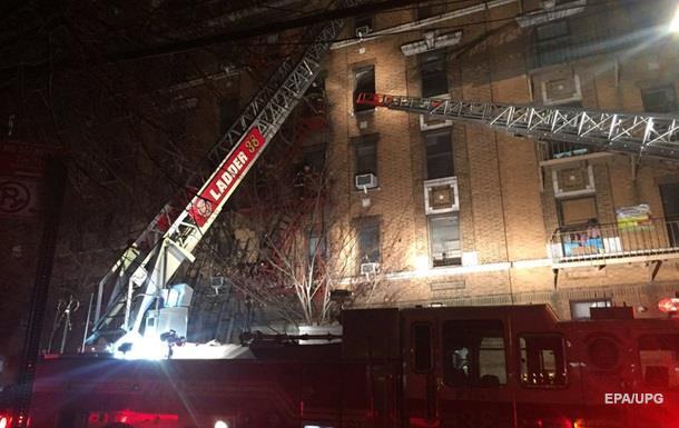 Велика пожежа водному зрайонів Нью-Йорка забрав життя 11 людей